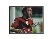 Paul Scholes Autograph Photo Signed - Manchester United